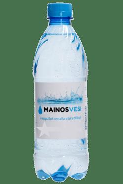 Hiilihapollinen 0,5l vesi omalla etiketillä
