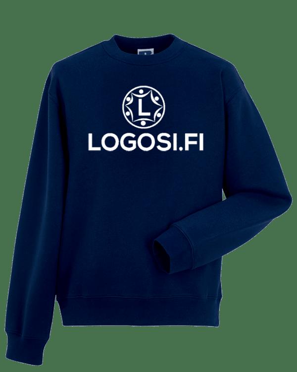 Logosin colleget, hupparit tai muut paidat ja vaatteet tuovat yhteisöllesi uuden ilmeen
