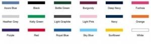 Basic huppari värit